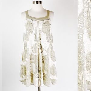 Free People   Embellished Beaded Formal Tent Dress